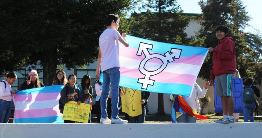 GSA+Club+Holds+Transgender+Rally