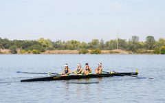 Navigation to Story: Camryn Berger Rows On Petaluma River
