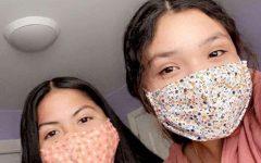 Navigation to Story: New Fashion Statement Masks Up
